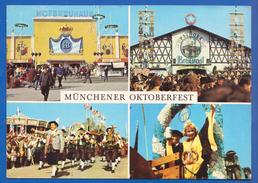 Deutschland; München; Multibildkarte Oktoberfest - Muenchen