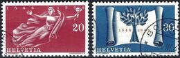 Switzerland 1948 - Centenary Of The Swiss Confederation ( Mi 498/99 - YT 455/56 )