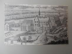 SARTHE PROFIL DE L'ABBAYE DE PERSEIGNE A MAINE ORDRE DE CITEAUX VUE DU COTE DE L'ENTREE 1695 - Other Municipalities
