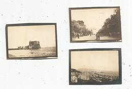 Photographie , 7.5 X 5 , ITALIE , NAPLES ,NAPOLI , LOTDE 3 PHOTOGRAPHIES - Plaatsen