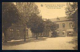 Cpa Belgique Néchin - Pensionnat De La Sainte Union  Des Sacrés Coeurs Coin De Cour Intérieure -- Estaimpuis   NCL51 - Estaimpuis