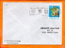 DROME, La Crest, Flamme SCOTEM N° 11094, Jumelage Crest - Cromer - Hibba - Poststempel (Briefe)