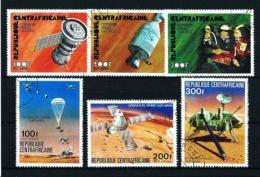 República Centroafricana  Nº Yvert  A-140/2 Y A-153/5  En Usado
