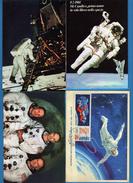 SPAZIO - NAVICELLA - ASTRONAUTI - 4 Cartoline Non Viaggiata. Vedi Descrizione - Astronomia