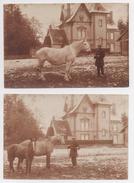 PHOTOGRAPHIE - 2 Photos (17,3 X 11,5) Environs De Laigle - Lieux