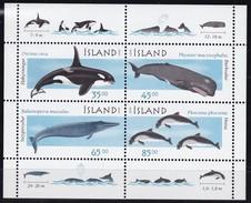 1999, Island,  905/06 Block 23, Wale Und Delphine (I). . MNH ** - Blocks & Sheetlets
