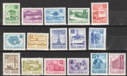 Rumänien 2953/68 ** Postfrisch - 1948-.... Republieken