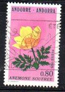 Y1997 - ANDORRA 1975 , Unificato N. 246 Usato . ANEMONE