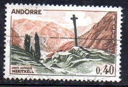 Y1998 - ANDORRA 1961 , Unificato N. 159A Usato .
