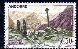 Y1999 - ANDORRA 1961 , Unificato N. 161 Usato .