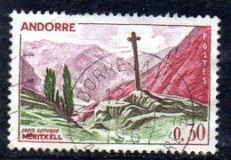 Y2000 - ANDORRA 1961 , Unificato N. 159 Usato .