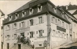 (15)  CPA Photo  Ferrette  Hotel Storchen (bon Etat) - Ferrette