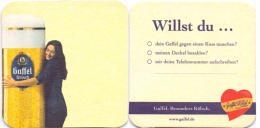 #D132-102 Viltje Gaffel - Sous-bocks