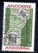 Y2003 - ANDORRA 1976 , Unificato N. 252 Usato .