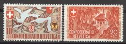 Schweiz 396/97 ** Postfrisch