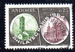 Y2006 - ANDORRA 1964 , Unificato N. 171 Usato . PHILATEC