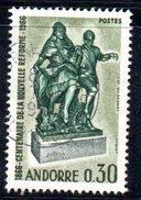 Y2007 - ANDORRA 1967 , Unificato N. 181 Usato .