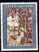 Y2009 - ANDORRA 1970 , Unificato N. 207 Usato .