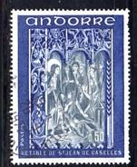 Y2010 - ANDORRA 1972 , Unificato N. 222 Usato .
