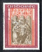 Y2012 - ANDORRA 1971 , Unificato N. 215 Usato .