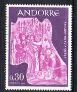 Y2013 - ANDORRA 1969 , Unificato N. 198 Usato .
