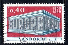 Y2016 - ANDORRA 1969 ,   Unificato N. 194 Usato . EUROPA CEPT