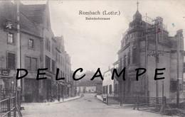ROMBAS - ROMBACH 1912 - La Rue De La Gare - Zonder Classificatie