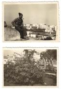 2 Photo - Soldat Militaire Du 1e Rgt Zouave Rabat 1931 - Documents