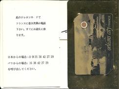 TELECARTE EXCEPTIONNELLE Dans Passeport Origine 'ORLEANS CITY' Voir Descriptif - Tirage 50 Exemplaires - France