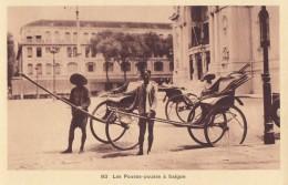 CPA - Saïgon - Les Pousse Pousse à Saïgon - Viêt-Nam