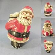 *PERE NOEL - Art Populaire Fête Tradition Statue - Père-Noël