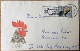 DDR, Plauen --> Bad Homburg 5.10.79, Hausrat Ausreichend Versichern Haushalt Versicherung, Geflügel, Phönix, Zierhuhn - Brieven En Documenten