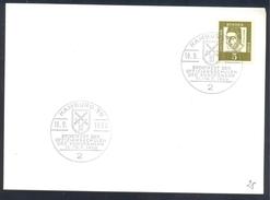 Germany Deutschland 1966 Card: Fencing Escrime Police; Sward; Sportfest Der Offizierschulen Der Bundeswehr