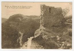 48 - Albaret Ste-Marie           Ruines Du Château De La Garde Et Vallée De La Truyère - Francia