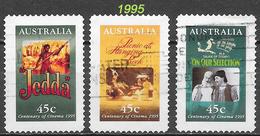 Australie - 100 Ans Cinéma - Oblitérés - Lot 235