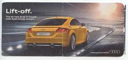 ETIHAD Airways Business Paris De Gaulle - Abu Dhabi : Lift Off The New Audi TT Coupé Virtual Cokpit (trasports) - Billets D'embarquement D'avion