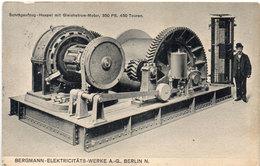 BERGMANN-ELEKTRICITÄTS-WERKE A.G. BERLIN N. ..     (95044) - Reclame