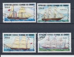Comoren/Comoros/Comores/Komoren 1984 Mi: 718-721 (Gebr/used/obl/o)(196) - Comoren (1975-...)