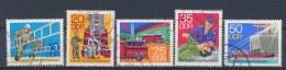 DDR/East Germany/Allemagne Orientale 1977 Mi: 2276-2280 Yt: 1946-1950 (Gebr/used/obl/o)(925) - Oblitérés