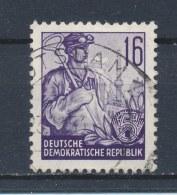 DDR/East Germany/Allemagne Orientale 1953 Mi: 369 Yt:  (Gebr/used/obl/o)(1206) - Oblitérés