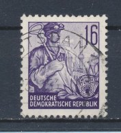 DDR/East Germany/Allemagne Orientale 1953 Mi: 369 Yt:  (Gebr/used/obl/o)(1206) - Used Stamps