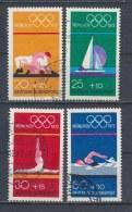 Duitsland/Germany/Allemagne/Deutschland 1972 Mi: 719-722 Yt:  (Gebr/used/obl/o)(1107)