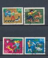 Duitsland/Germany/Allemagne/Deutschland 1972 Mi: 711-714 Yt:  (Gebr/used/obl/o)(1139)