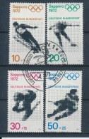 Duitsland/Germany/Allemagne/Deutschland 1971 Mi: 680-683 Yt:  (Gebr/used/obl/o)(1177)