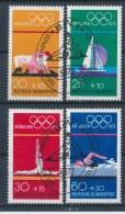 Duitsland/Germany/Allemagne/Deutschland 1972 Mi: 719-722 Yt:  (Gebr/used/obl/o)(1178)