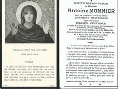 Mainvault-Antoine Monnier - Obituary Notices