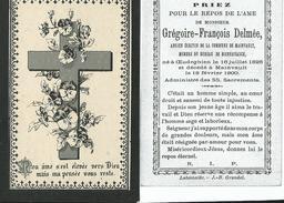 Mainvault-Grégoire-François Delmée 16-07-1826/18-02-1900 - Obituary Notices