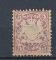 Beieren/Bavaria/Baviere/Bayern 1878 Mi: 45 Yt: 40 (Gebr/used/obl/o)(612) - Beieren