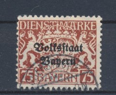Beieren/Bavaria/Baviere/Bayern 1919 Mi: DM 41 Yt: TS 41 (Gebr/used/obl/o)(622) - Beieren