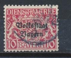 Beieren/Bavaria/Baviere/Bayern 1919 Mi: DM 33 (Gebr/used/obl/o)(791) - Bavière
